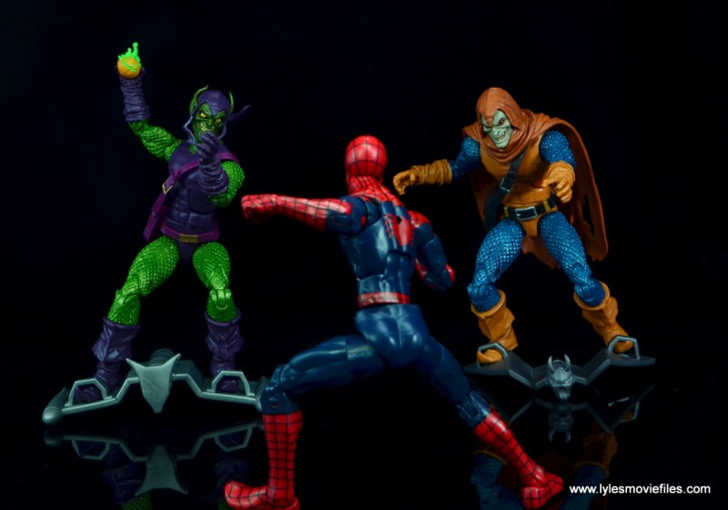 Marvel Legends Green Goblin figure review -teaming with Hobgoblin vs Spider-Man