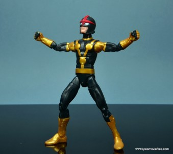 Marvel Legends Kid Nova figure review -arms wide