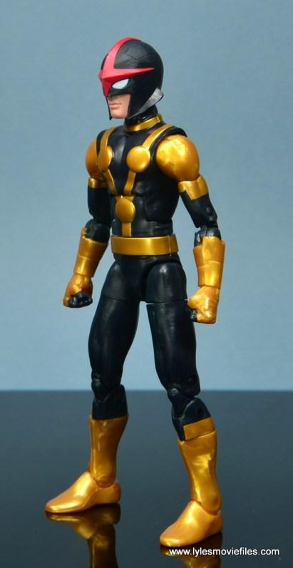 Marvel Legends Kid Nova figure review -left side
