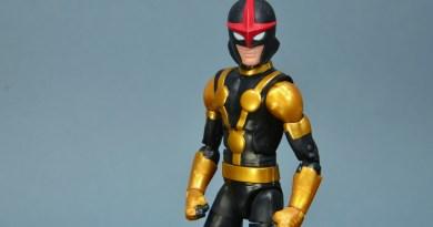 Marvel Legends Kid Nova figure review