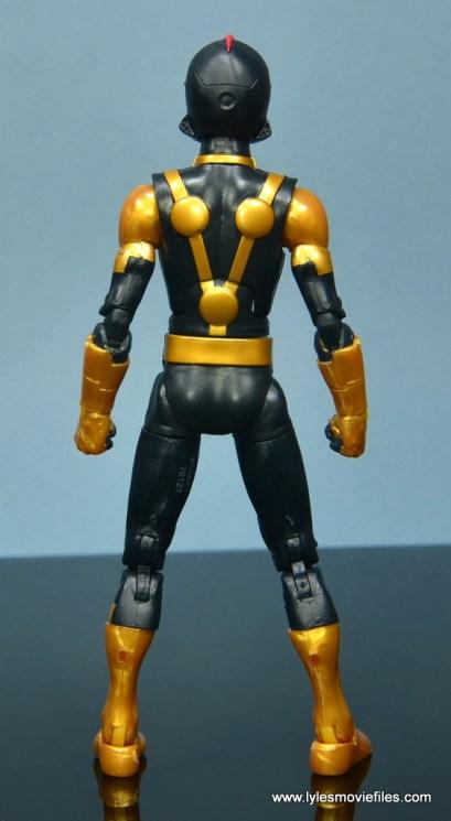 Marvel Legends Kid Nova figure review - rear