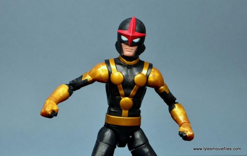 Marvel Legends Kid Nova figure review -wide