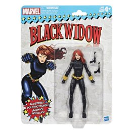 Marvel Vintage Legends Series 6-inch Black Widow