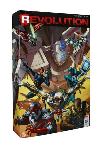 REVOLUTION Comic Crossover Preview Mega-Set_pkg