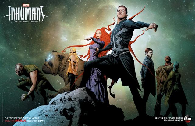 SDCC 2017 Inhumans poster