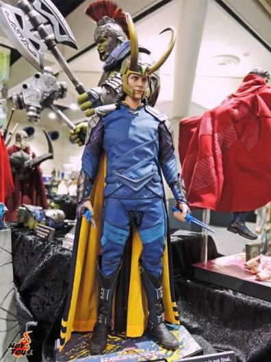 SDCC 2017 new Hot Toys Thor Ragnarok Loki