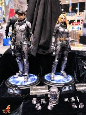SDCC 2017 new Hot Toys Valerian figures