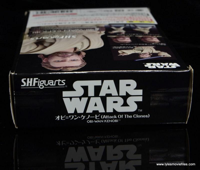 SHFiguarts Star Wars Obi-Wan Kenobi figure review -package top