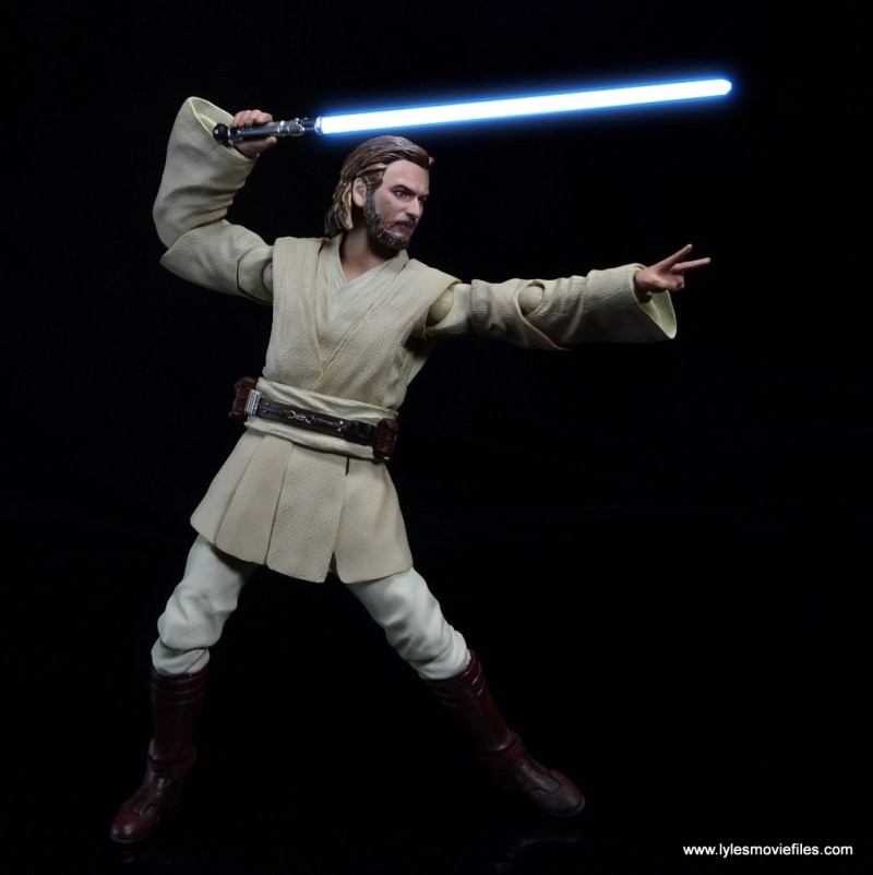 SH Figuarts Star Wars Obi-Wan Kenobi figure review - ready for a duel
