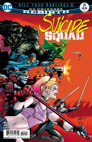 Suicide Squad #21 cover
