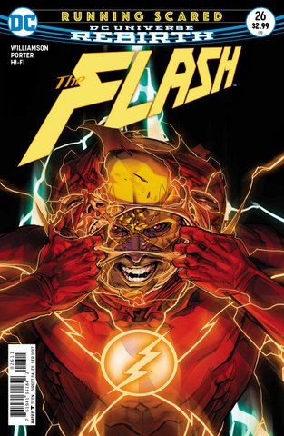 The Flash #26 cover