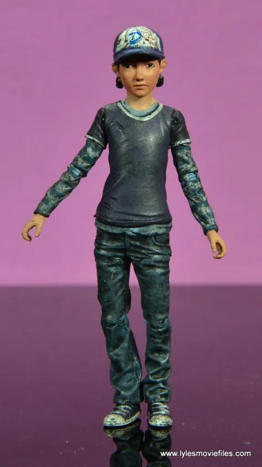 The Walking Dead Telltale Games Clementine figure review - front
