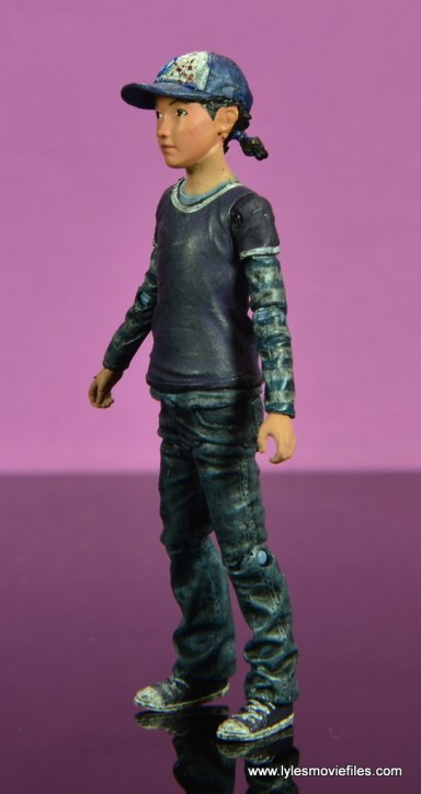 The Walking Dead Telltale Games Clementine figure review -left side