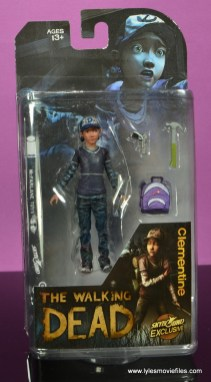 The Walking Dead Telltale Games Clementine figure review - package front