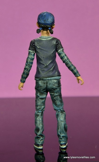 The Walking Dead Telltale Games Clementine figure review - rear