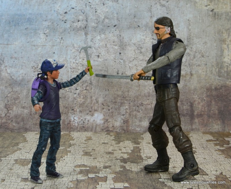 The Walking Dead Telltale Games Clementine figure review -with the hammer