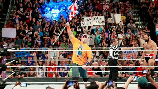 WWE Battleground 2017 Cena vs Rusev