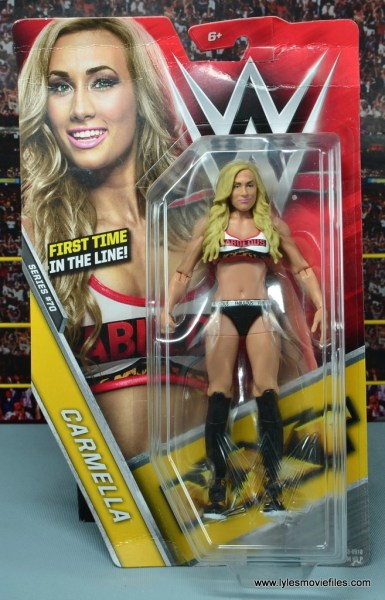 WWE Carmella figure review - front package