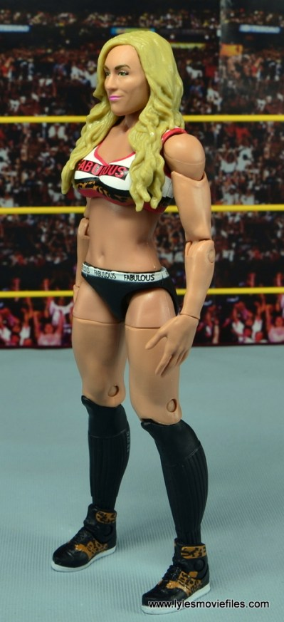 WWE Carmella figure review - left side