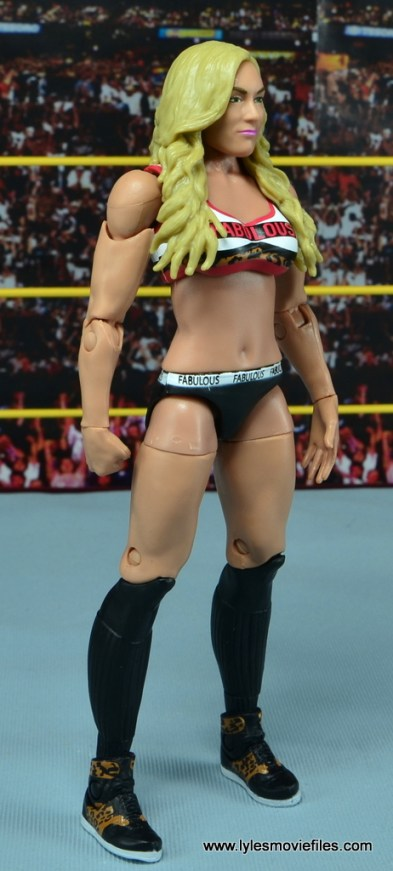 WWE Carmella figure review - right side