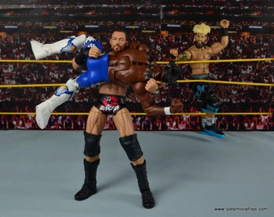 WWE Elite Big Cass and Enzo figure review -Cass catching Kofi