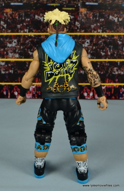 WWE Elite Big Cass and Enzo figure review -Enzo rear