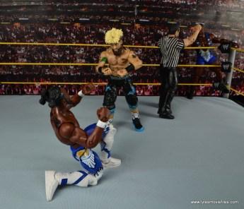 WWE Elite Big Cass and Enzo figure review -Enzo taunting Kofi Kingston