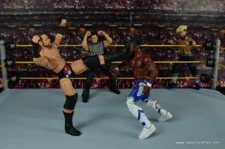 WWE Elite Big Cass and Enzo figure review -big boot to Kofi Kingston