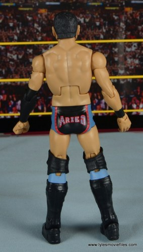 WWE NXT TakeOver Austin Aries figure review - rear