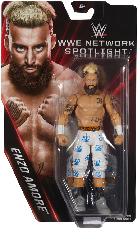 WWE Network Spotlight Enzo Amore figure