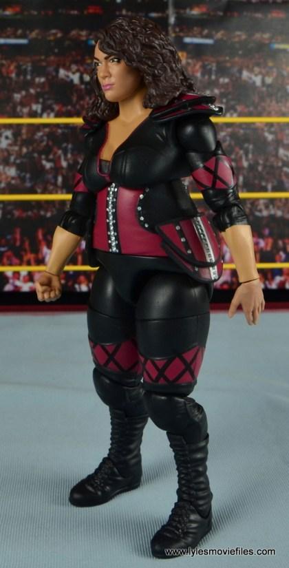 WWE Nia Jax figure review - left side