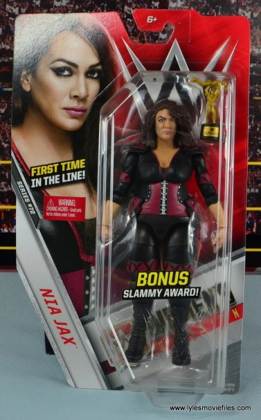 WWE Nia Jax figure review - package front