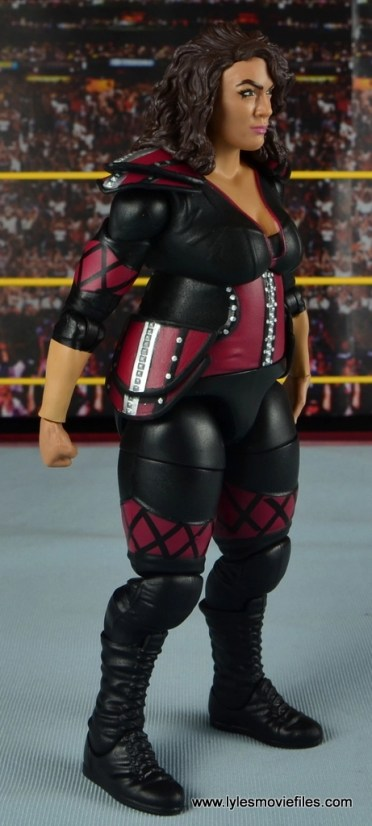 WWE Nia Jax figure review - right side