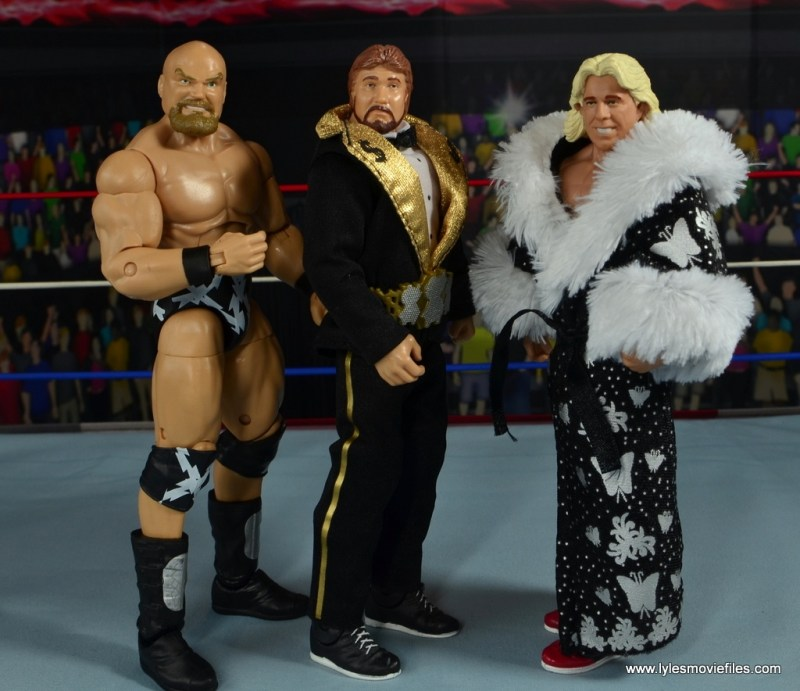 WWE The Warlord figure review -Survivor Series 91 team with Ted DiBiase and Ric Flair