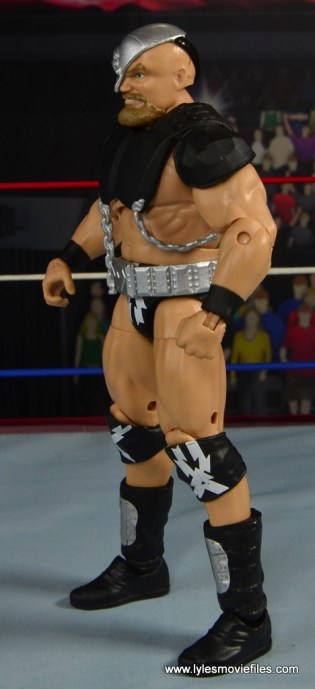 WWE The Warlord figure review -left side