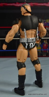 WWE The Warlord figure review - rear side left
