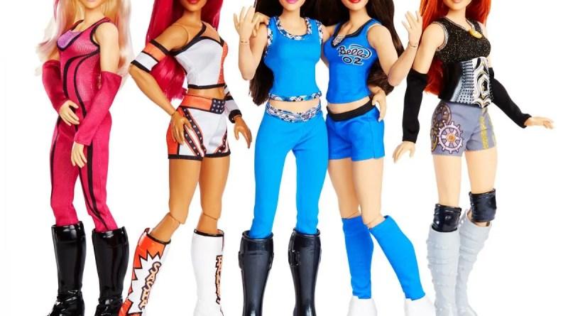 WWE female figures