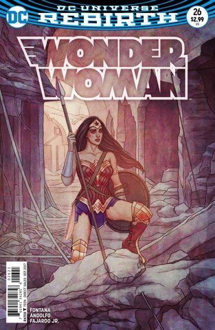 Wonder Woman #26 variant cover