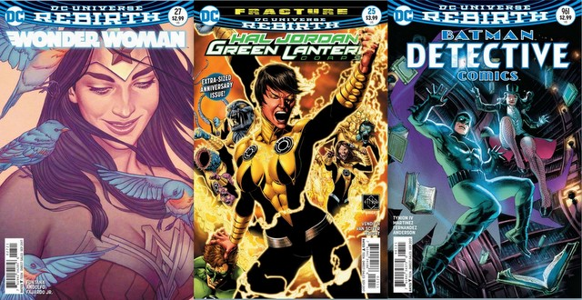 DC Comics reviews for the week of 7/26/17