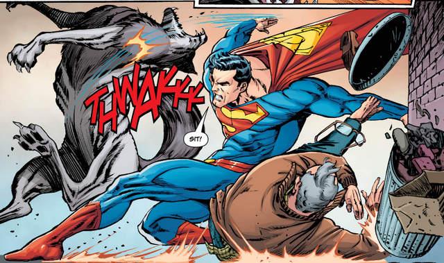 Action Comics #985 interior art