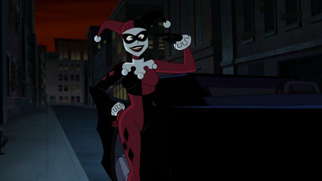 Batman and Harley Quinn review - Harley crazy