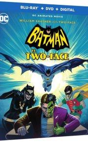 Batman vs Two-Face Blu-Ray cover