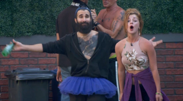Big Brother 19 Paul and his puppet Raven