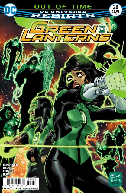 Green Lanterns #28 cover
