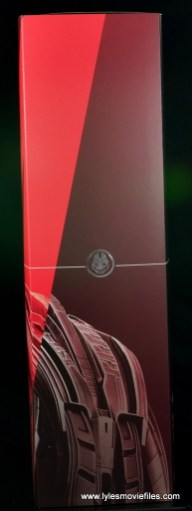 Hot Toys Avengers Ultron Prime figure review -package side