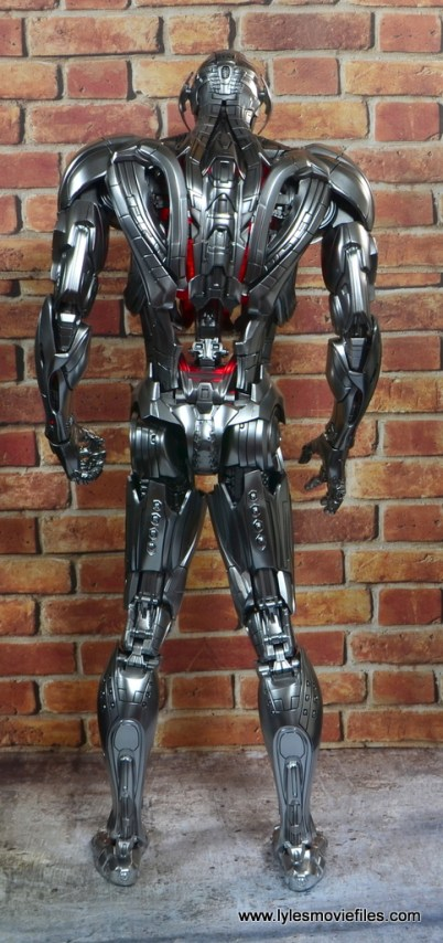 Hot Toys Avengers Ultron Prime figure review - rear