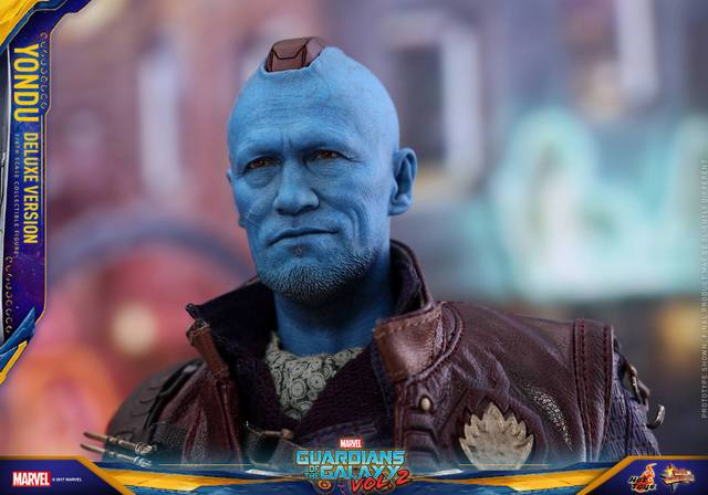 Hot Toys Guardians of the Galaxy Vol. 2 Yondu figure -mohawk down