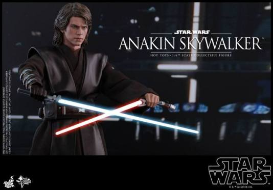 Hot Toys Revenge of the Sith Anakin Skywalker - about to kill Count Dooku