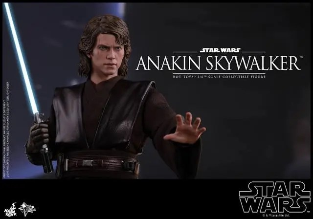 Hot Toys Revenge of the Sith Anakin Skywalker - robe off