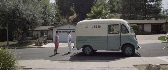 Ice Cream Truck movie review - the ice cream truck driver